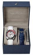 Chronograph Dual Strap Mens Watch Box Set N09907G