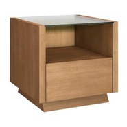 FT23CC Contemporary End Table - Finishes Include L