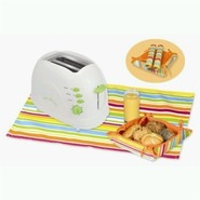 TO-25908L Sunny Morning 2 Slice Toaster in Lime