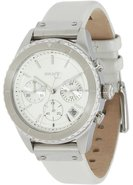 Leather Chronograph Ladies Watch NY8517
