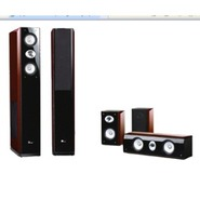 Dream77SetBR 5 Piece Surround Sound Speaker System