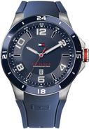 Navy Silicone Mens Watch 1790862
