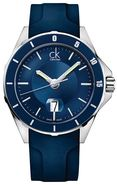 ck Play Blue Rubber Mens Watch K2W21TZX