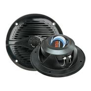 MR50B 5.25&amp;quot; Round Marine Speakers - (Pair) Bl