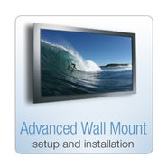 Wall Mounted TV Setup and Installation Kit - inclu