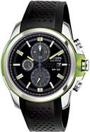Eco-Drive Rubber Chronograph Mens Watch CA0427-08E