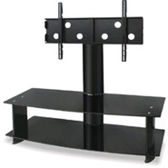 AVS105BK Wide 2 shelve Plasma TV stand for up to 5