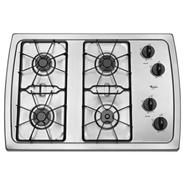 30-inch Gas Cooktop with 5,000 BTU AccuSimmer(R) B