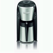 KT720D50 10 Cup Thermal Filter Coffee Maker, Black
