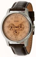Leather Mens Watch U10647G1