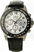 Speedway Leather Chronograph Mens Watch 10708