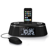 iMM178 Vibro Sound Dual Alarm Clock with Speaker I