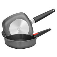 1620N Titanium Square 8 Inch Fry Pan with Detachab