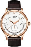 Tradition Rose Gold PVD Perpetual Mens Watch T0636
