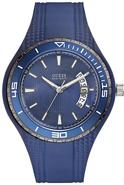Blue Silicone Mens Watch U10663G3