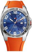 Orange Silicon Mens Watch 1790883