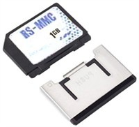 1GB Dual Voltage RS MMC Memory Card
