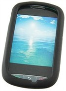 Black Silicone Skin Case For LG 800g
