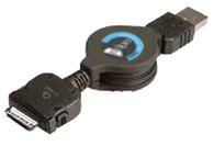 Retractable USB Sync Cable For Treo 180, 190, 270,