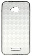 Clear Diamond Pattern TPU Skin Case For HTC DROID