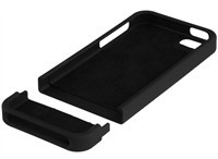 Black Back Protector Case For Apple iPhone 5