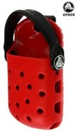 Red/Black Crocs o-dial Universal Case - Small Size