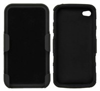 Hard Shell Case With Holster For Apple iPhone 4, i