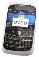 Clear Silicone Skin Case For BlackBerry Bold 9700,