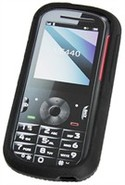 Black Silicone Skin Case For Motorola VE440