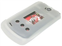 Clear Silicone Skin Case For LG VX8600