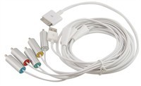 Component AV Cable For Apple iPhone, iPod, iPad