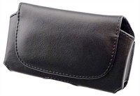 Leather Carrying Pouch Case For Samsung Gravity Sm