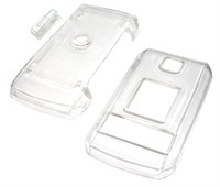 Clear Snap-On Cover For LG CU575 (Trax)