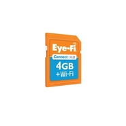 4 GB Connect X2 SDHC Memory Card (EYE-FI-4CN)