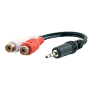 C2g Value Series One 3.5mm Stereo Male to Two RCA