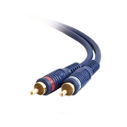 C2g C2G Velocity RCA Stereo Blue Audio Cable - 12
