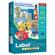 Label Factory Deluxe - ( v. 4 ) - complete package