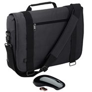 Dell Dell Half Day Messenger Case- Fits Laptop wit