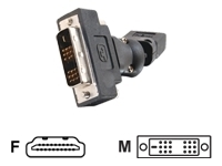 C2g HDMI FEMALE TO DV-D MALE ROTATING ADPTR (40931