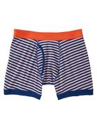 Thin Diagonal Striped Boxer Briefs