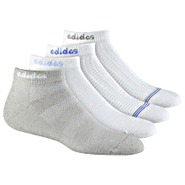 50/50 Textured Low-Cut Socks 4 PR