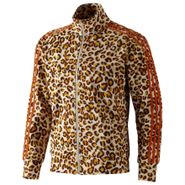 Jeremy Scott Leopard Firebird Track Top