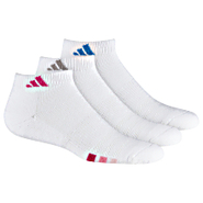 Cush. Variegated Low Cut Socks 3 PR