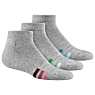 Cushioned Variegated Low-Cut Socks 3 PR