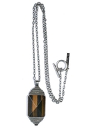 SALE-MinkPink Eye of the Tiger Necklace - Roman Si