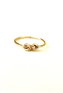 Bijouterie Infinity Knot Ring - Gold - 6