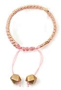 Oona Tie Bracelet in Pink