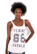 SALE-Zoe Karssen Femme Fatal Tank Top - Heavenly P
