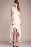 FINAL SALE-Keepsake Mine Is Yours Dress - Ivory -
