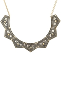 SALE-Belle Noel Gypsy Chic Collar Necklace - Antiq